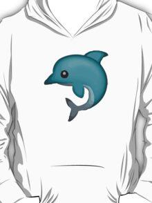Dolphin Apple / WhatsApp Emoji T-Shirt