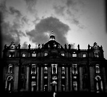 Vatican in Holga by solasphoto