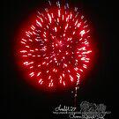 red fire in the sky by LoreLeft27