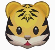 Tiger Face Apple / WhatsApp Emoji Kids Clothes