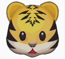 Tiger Face Apple / WhatsApp Emoji Kids Clothes