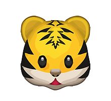 Tiger Face Apple / WhatsApp Emoji by emoji