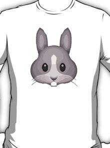 Rabbit Face Apple / WhatsApp Emoji T-Shirt