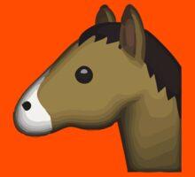 Horse Face Apple / WhatsApp Emoji Kids Clothes