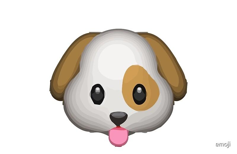 Dog Face Apple WhatsApp Emoji quot Studio Pouches by emoji Redbubble