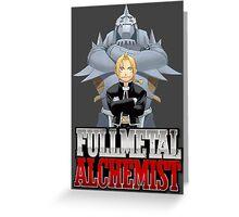 Full Metal Alchemist 2 Greeting Card