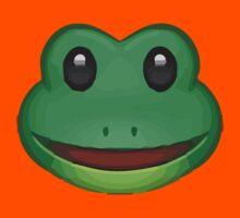 Frog Face Apple / WhatsApp Emoji Kids Clothes