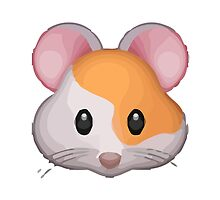 Hamster Face Apple / WhatsApp Emoji by emoji