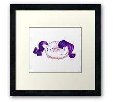 Rari-donut Framed Print