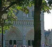 Notre Dame, Paris, August by Priscilla Turner