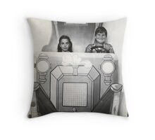Santa Cruz or Bust Throw Pillow