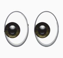 Eyes Apple / WhatsApp Emoji T-Shirt