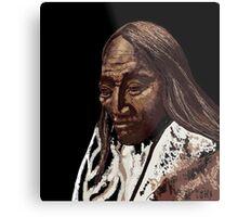 Two Strike, Sioux Metal Print
