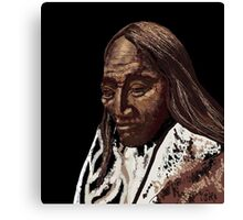 Two Strike, Sioux Canvas Print
