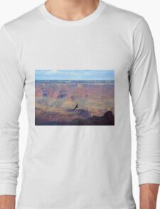 Soaring Over the Grand Canyon Long Sleeve T-Shirt