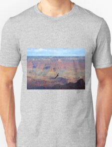 Soaring Over the Grand Canyon Unisex T-Shirt
