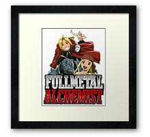 Full Metal Alchemist 3 Framed Print
