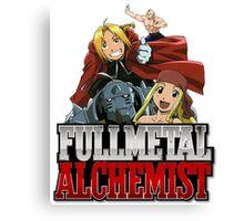 Full Metal Alchemist 3 Canvas Print