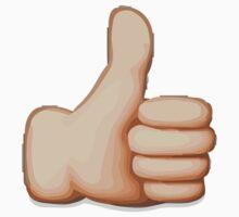 Thumbs Up Sign Apple / WhatsApp Emoji Kids Clothes