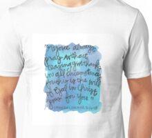 1 Thessalonians 5:15-18 Watercolor Print Unisex T-Shirt
