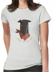 dog person Womens Fitted T-Shirt