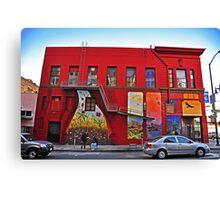 San Francisco Grafitti Canvas Print