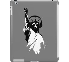 Lady Liberty with DJ Headphone iPad Case/Skin