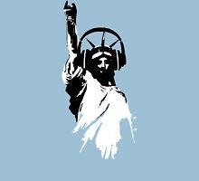 Lady Liberty with DJ Headphone Unisex T-Shirt