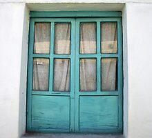 Green Painted Window by rhamm