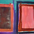 Rothko Influenced Abstract 9 by Josh Bowe