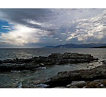 Salécia and the Cap Corse Photographic Print