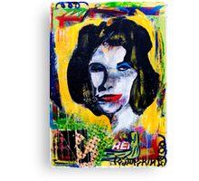 Pop Icon Canvas Print