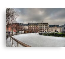 Kongens Nytorv, Winter 09 Canvas Print
