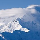 East Buttress of Denali and Plane by MichaelWilliams