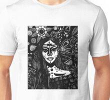 Andromedan Goddess B & W Unisex T-Shirt