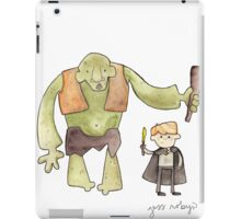 Harry Potter's Troll iPad Case/Skin