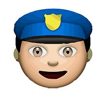Police Officer Apple / WhatsApp Emoji by emoji