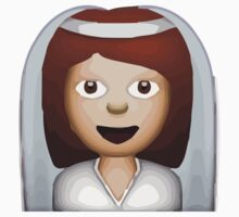 Bride With Veil Apple / WhatsApp Emoji Kids Clothes