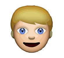 Person With Blond Hair Apple / WhatsApp Emoji by emoji