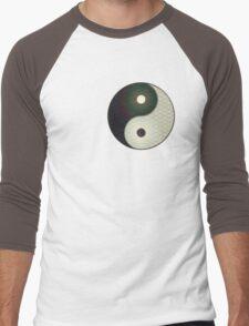 Yin-yang Men's Baseball ¾ T-Shirt