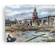 Union University 7:02 p.m. Canvas Print