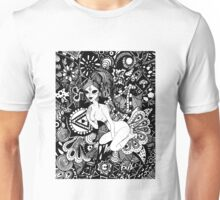 Psychedelic Space Raver Unisex T-Shirt