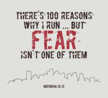 There's 100 Reasons To Run | Boston Strong by marcodeobaldia