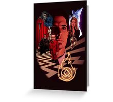 A_TWIN PEAKS_A Greeting Card