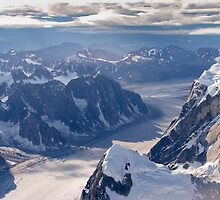 Glacier fron Denali, Denali NP by MichaelWilliams