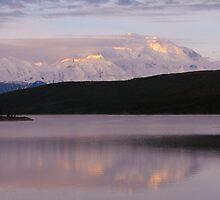 Denali and Mirror Lake by MichaelWilliams