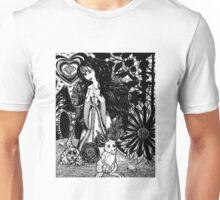Flowered Friends Unisex T-Shirt