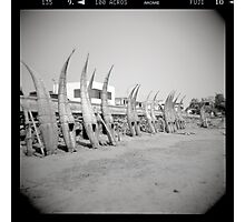 Caballitos de Totora - Peru Photographic Print