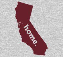California HOME GARNET T-Shirt