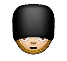 Guardsman Apple / WhatsApp Emoji by emoji